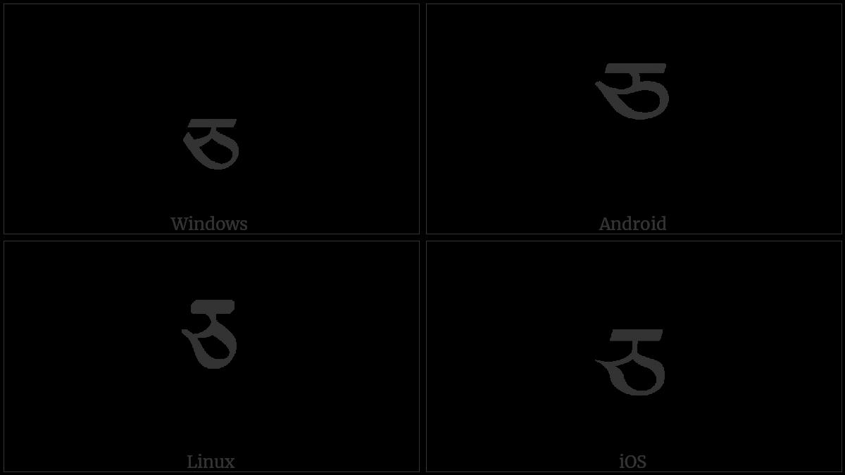 TIBETAN LETTER CA utf-8 character