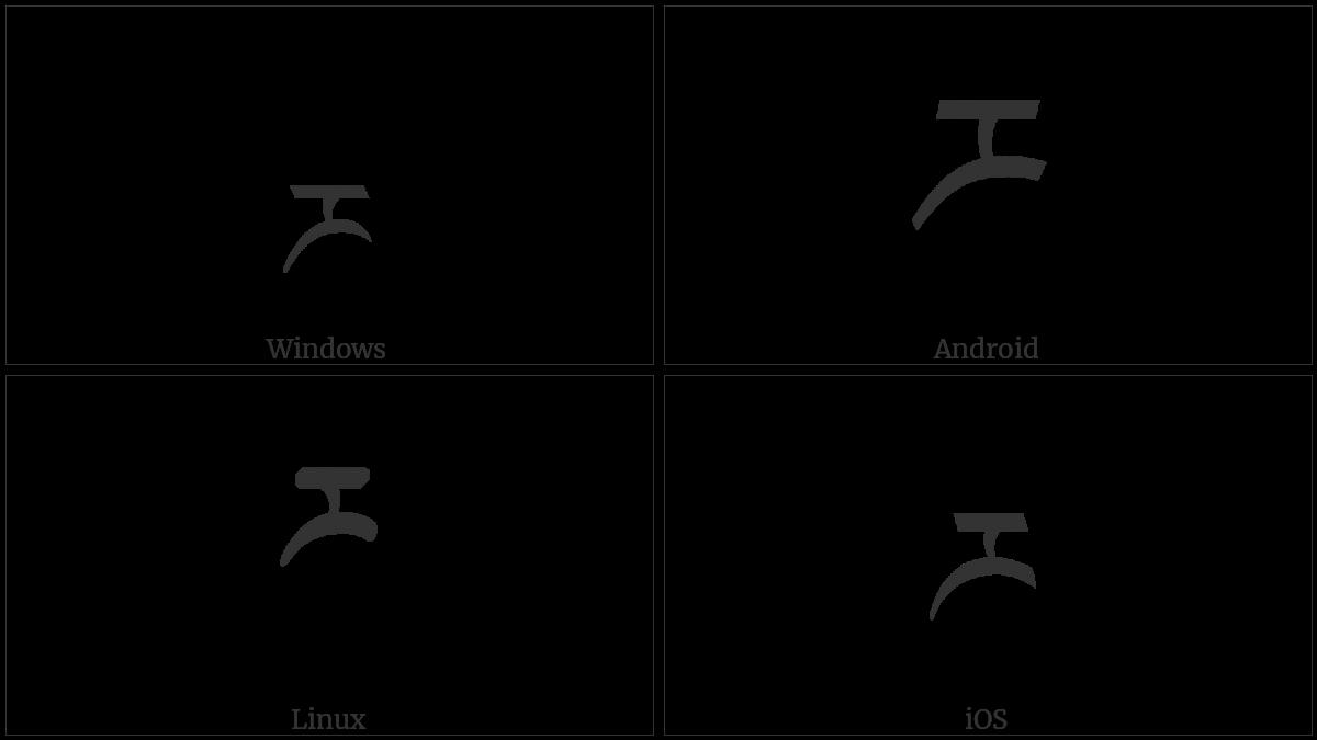 TIBETAN LETTER RRA utf-8 character