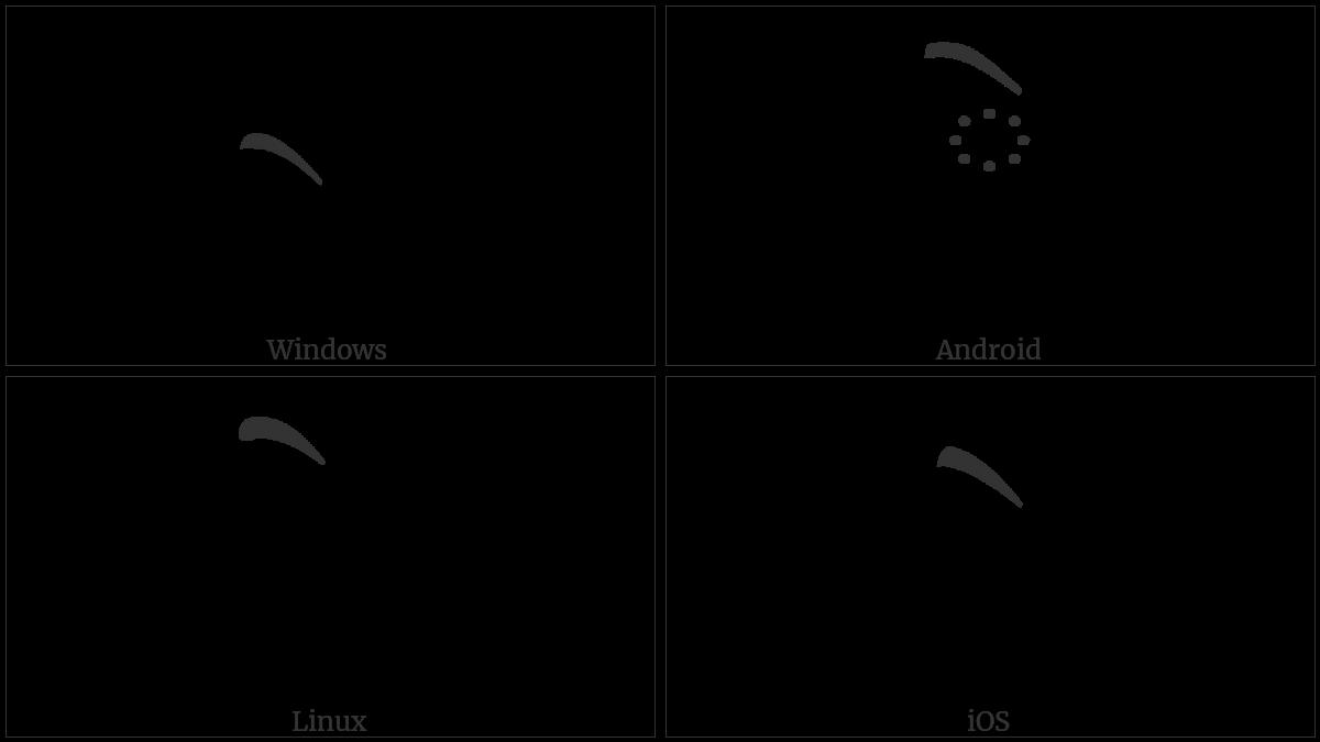 TIBETAN VOWEL SIGN E utf-8 character