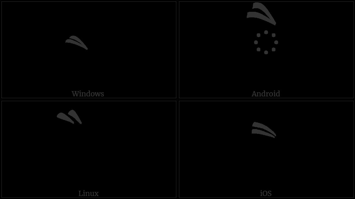 TIBETAN VOWEL SIGN EE utf-8 character
