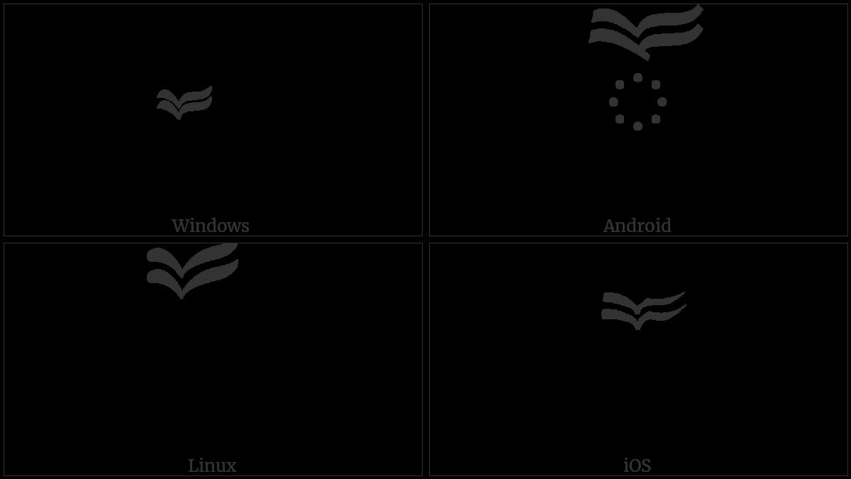 TIBETAN VOWEL SIGN OO utf-8 character