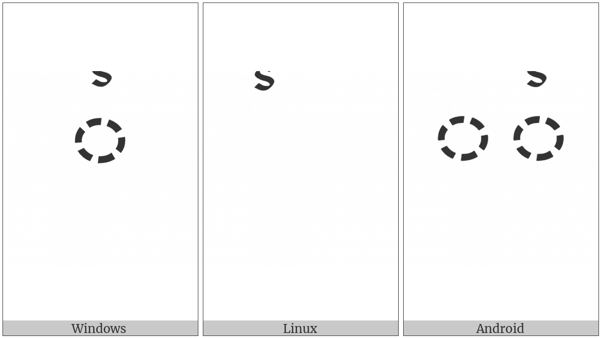 TIBETAN SIGN LCI RTAGS utf-8 character