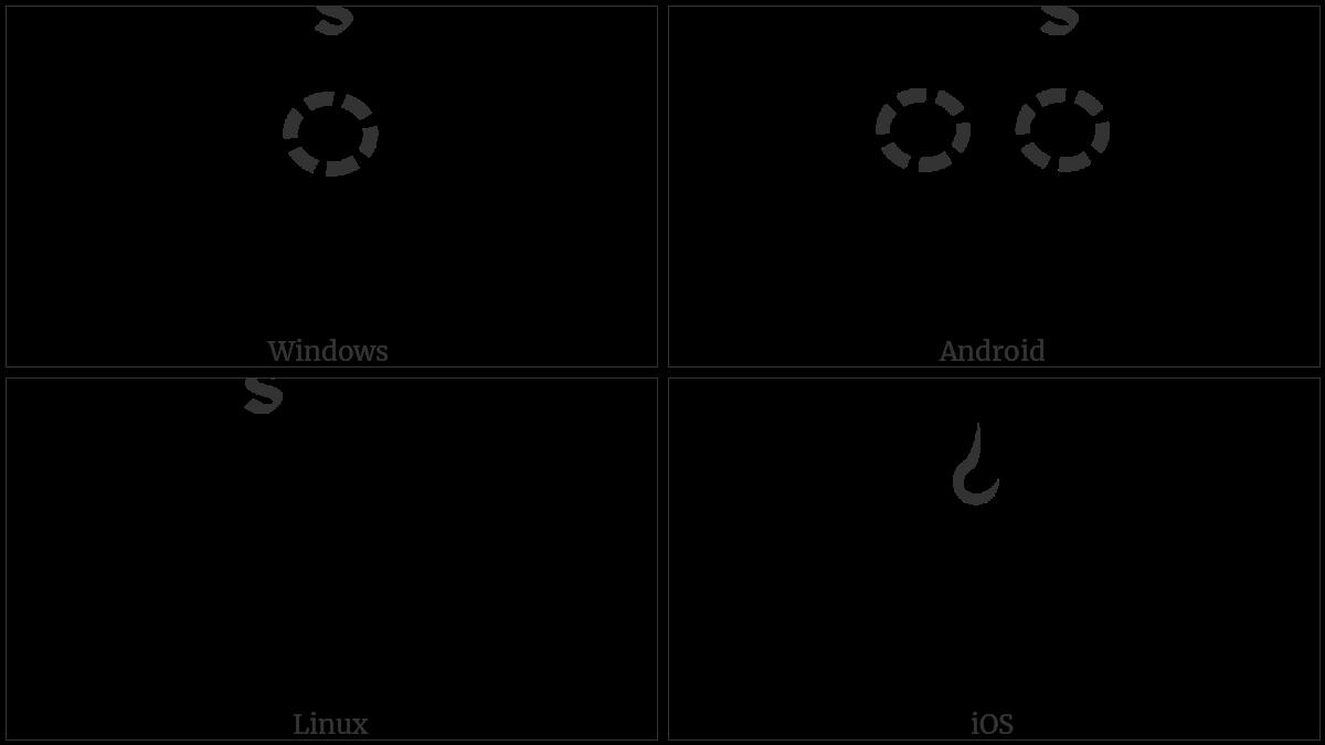 Tibetan Sign Lci Rtags on various operating systems