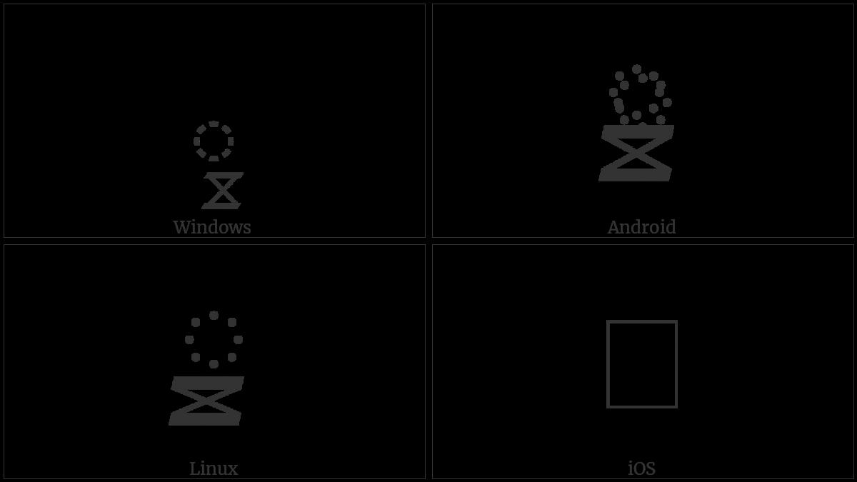 TIBETAN SUBJOINED SIGN LCE TSA CAN utf-8 character