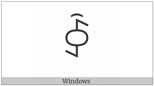 Yi Syllable Iex on various operating systems