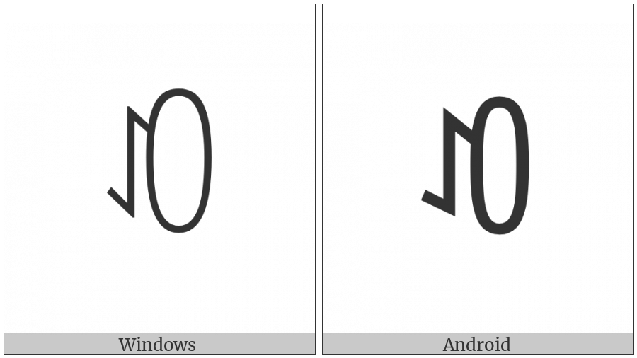 Yi Syllable Op on various operating systems