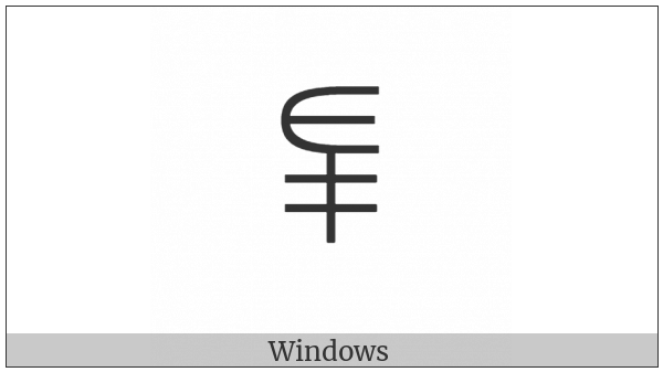 Yi Syllable Pop on various operating systems