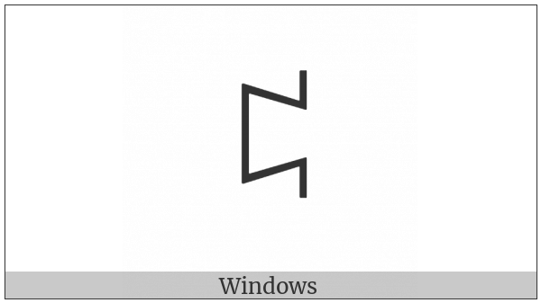 Yi Syllable Put on various operating systems