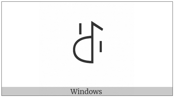 Yi Syllable Pyr on various operating systems