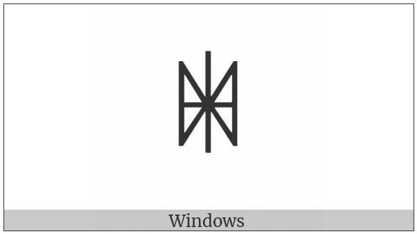 Yi Syllable Nbyr on various operating systems