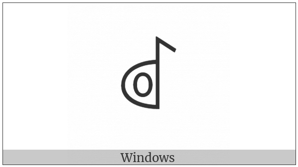 Yi Syllable Hmot on various operating systems