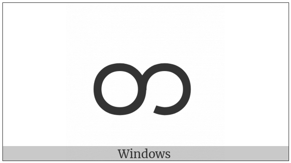 Myanmar Letter Ta on various operating systems