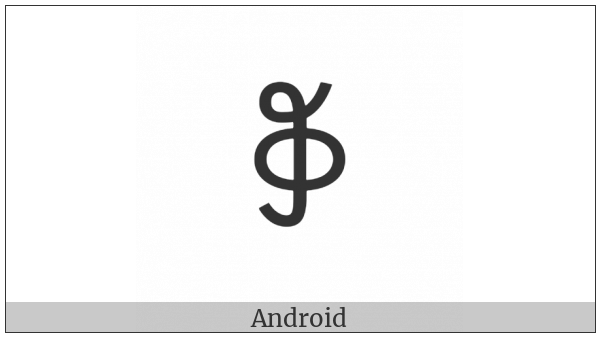 Yi Syllable Mup on various operating systems