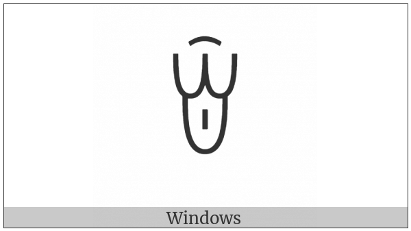 Yi Syllable Lux on various operating systems