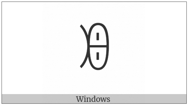 Yi Syllable Gut on various operating systems