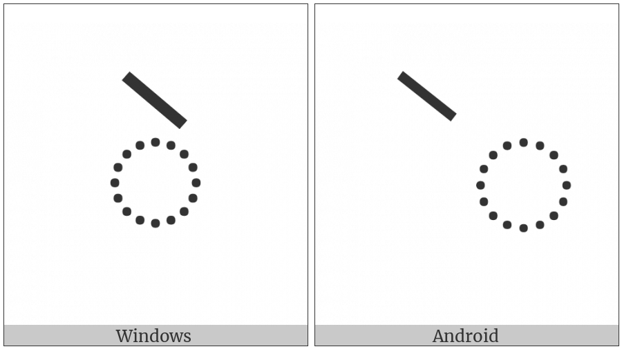 Myanmar Vowel Sign Ai on various operating systems