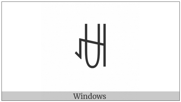 Yi Syllable Cot on various operating systems