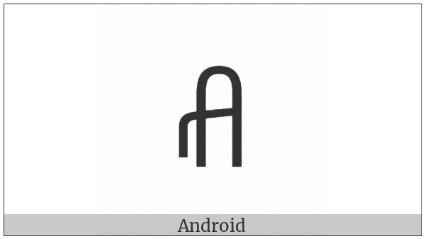 Yi Syllable Zzyr on various operating systems