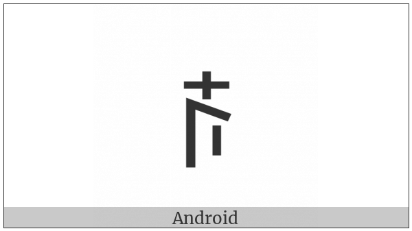 Yi Syllable Nze on various operating systems