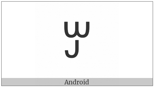 Yi Syllable Jo on various operating systems
