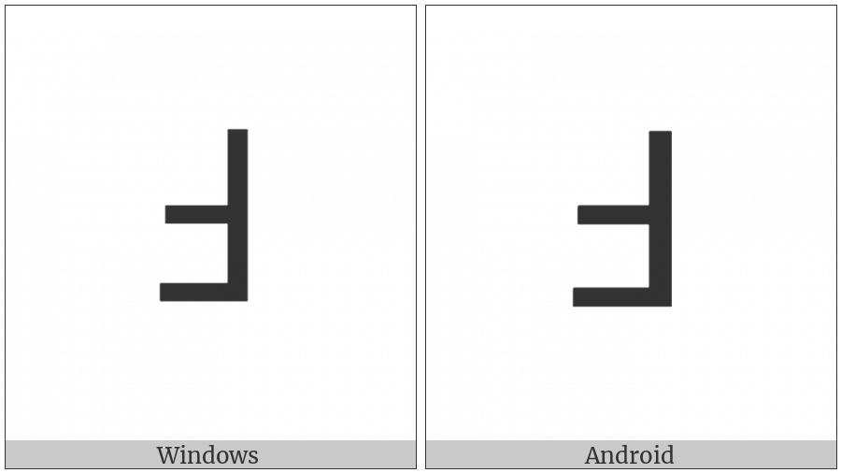 Lisu Letter Tsha on various operating systems