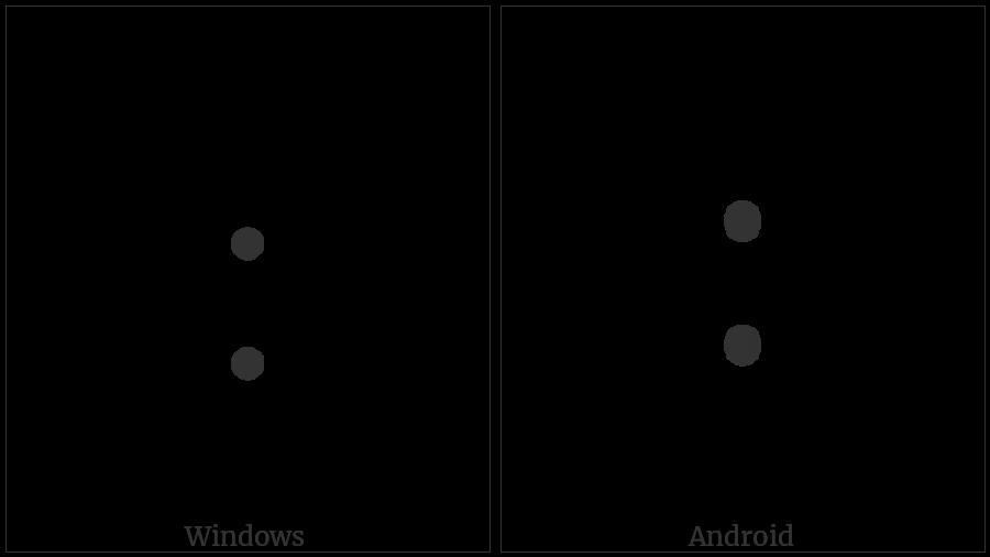 Lisu Letter Tone Mya Jeu on various operating systems