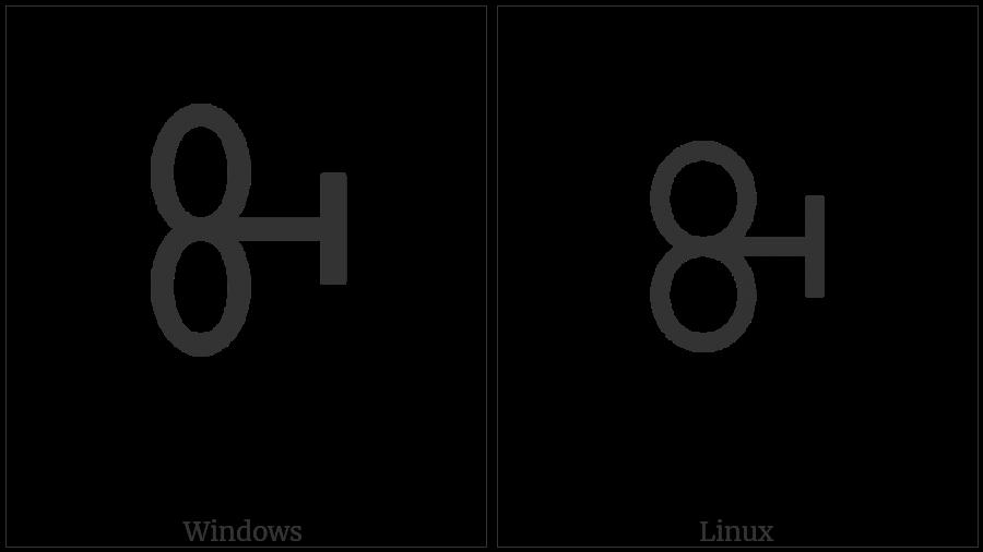 Vai Syllable Bi on various operating systems