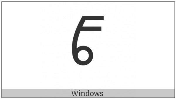 Vai Syllable Ci on various operating systems