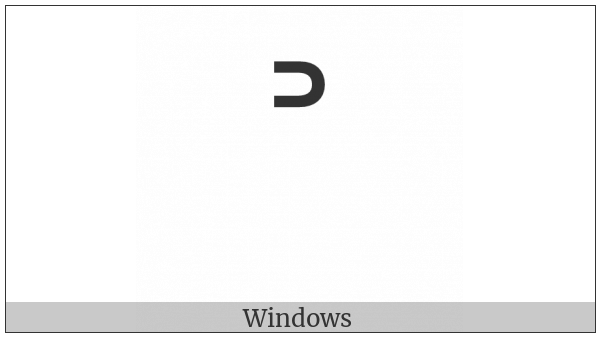 Modifier Letter Chinese Tone Yin Qu on various operating systems