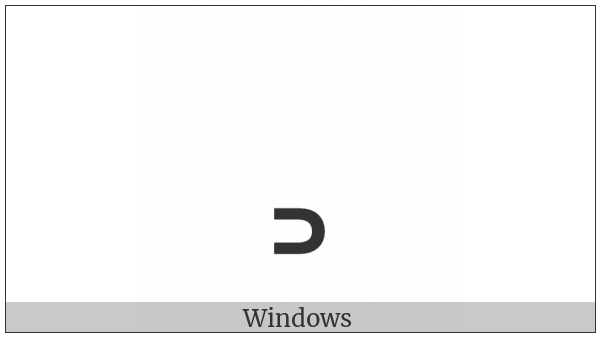 Modifier Letter Chinese Tone Yin Ru on various operating systems