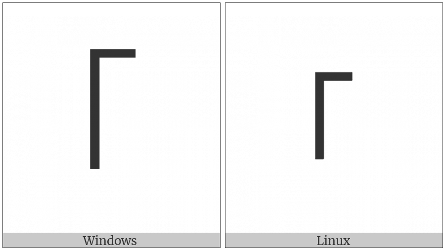 Modifier Letter Extra-High Left-Stem Tone Bar on various operating systems