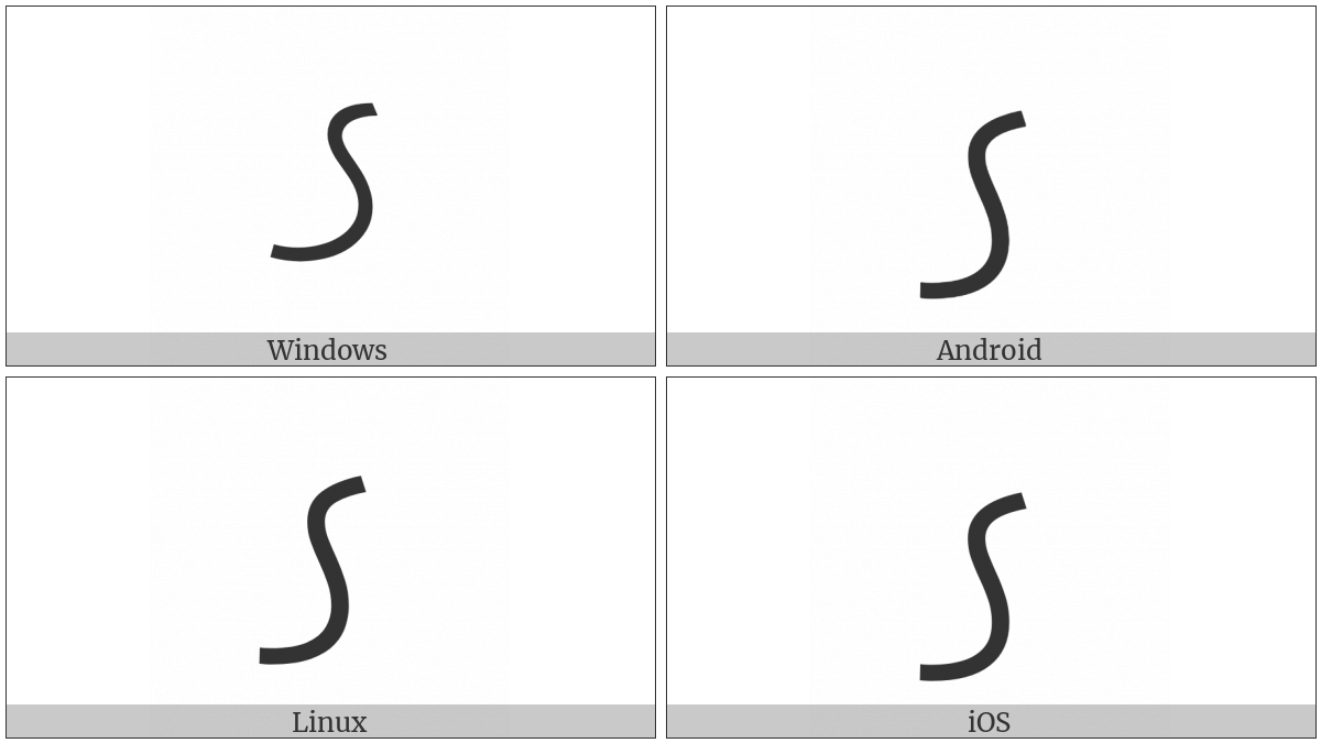 North Indic Quantity Mark on various operating systems