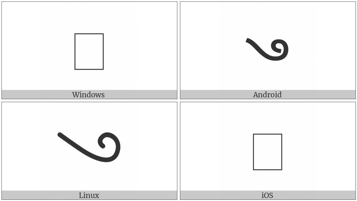 Devanagari Sign Siddham on various operating systems