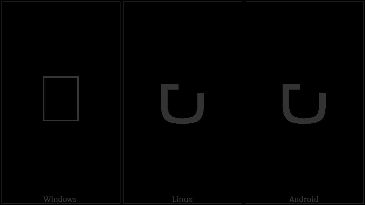 Kayah Li Digit Nine on various operating systems