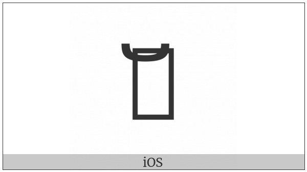 Kayah Li Vowel Ee on various operating systems