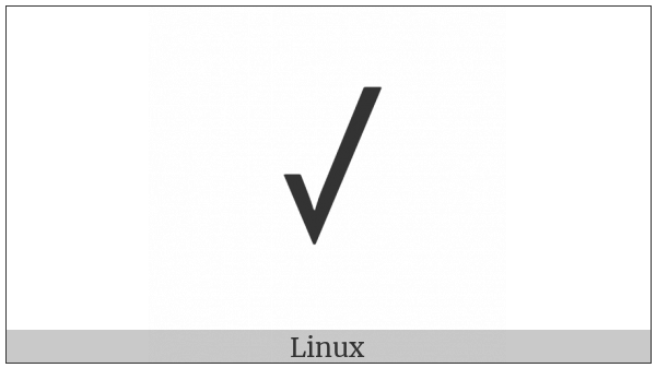 Rejang Letter Pa on various operating systems