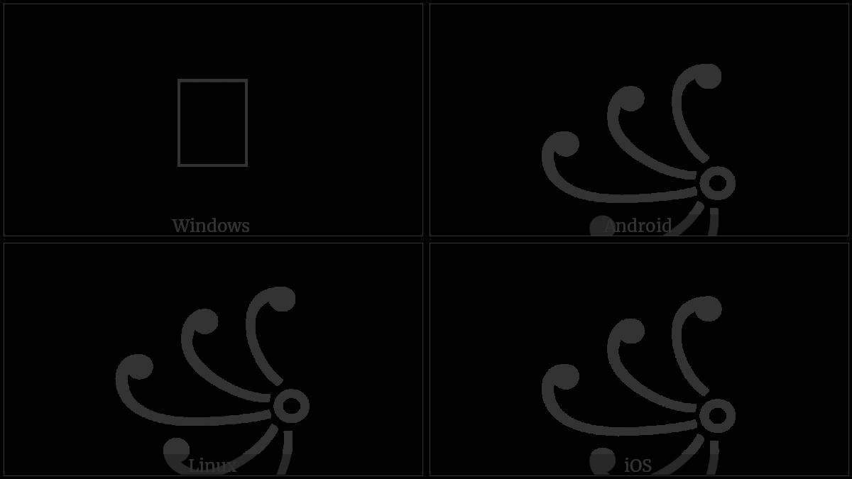 Javanese Left Rerenggan on various operating systems