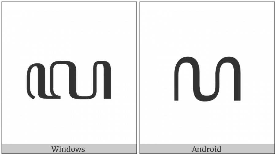 Javanese Digit Seven on various operating systems