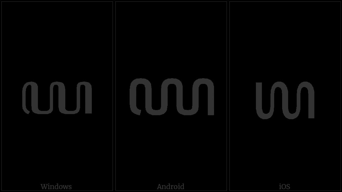 Javanese Digit Nine on various operating systems