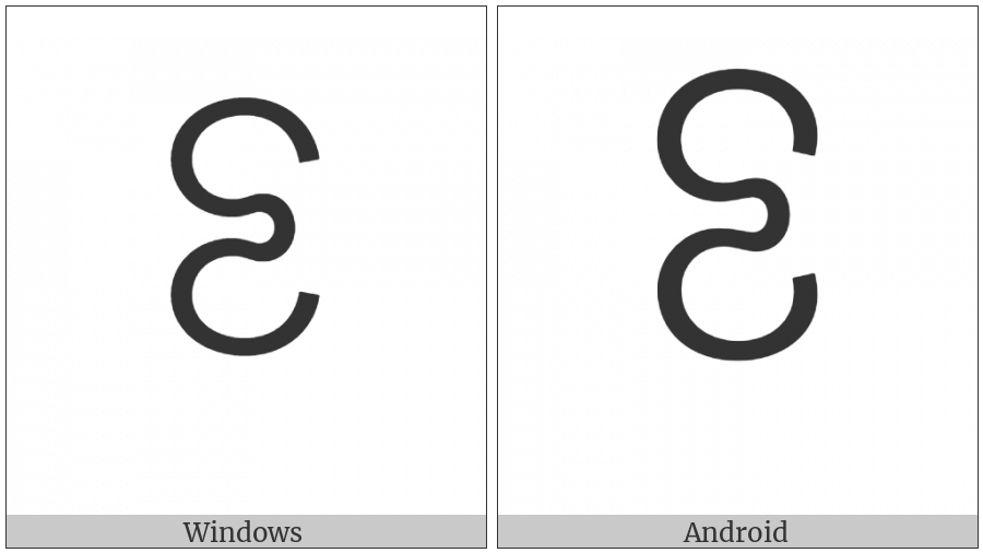Myanmar Tai Laing Digit Four on various operating systems