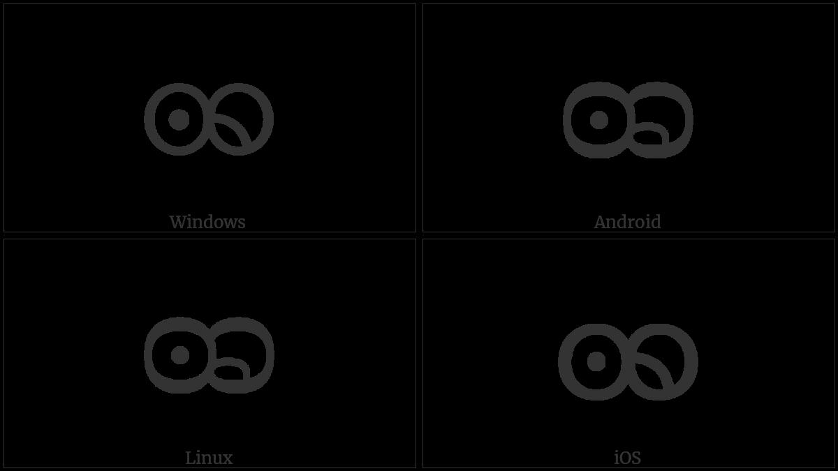 Myanmar Letter Khamti Ddha on various operating systems