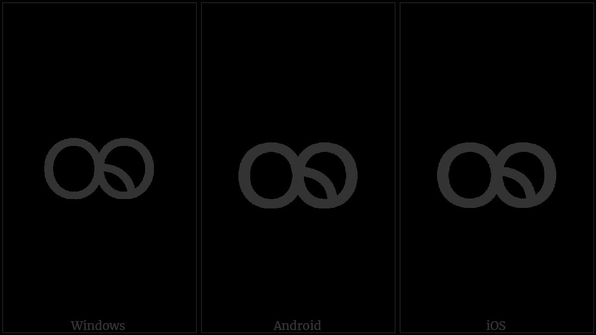 Myanmar Letter Khamti Dha on various operating systems