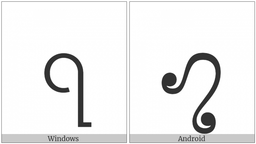 Myanmar Symbol Aiton Two on various operating systems