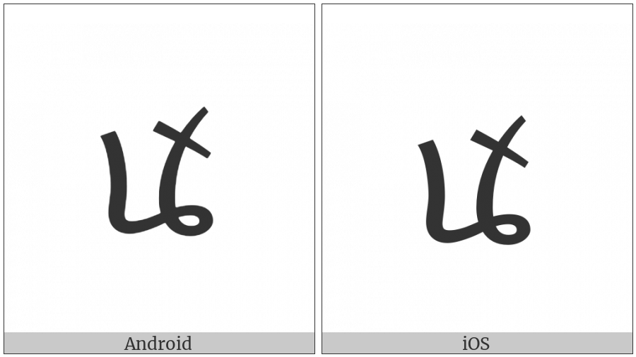 Tai Viet Vowel An on various operating systems