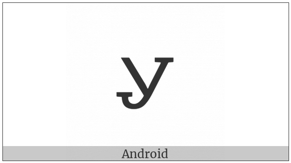 Cherokee Small Letter Mu on various operating systems