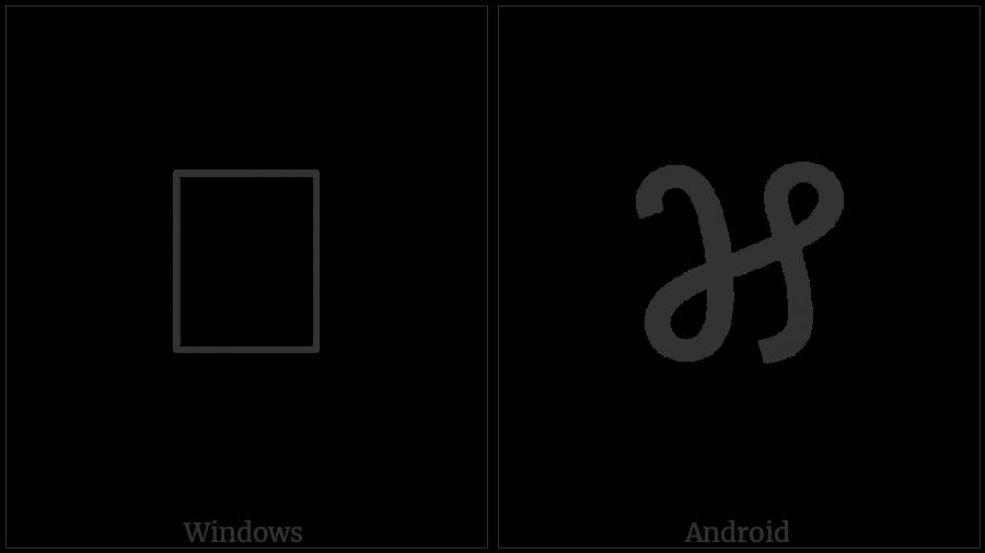 Meetei Mayek Digit Seven on various operating systems