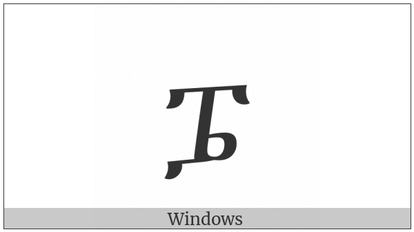 Ethiopic Syllable Pwee on various operating systems