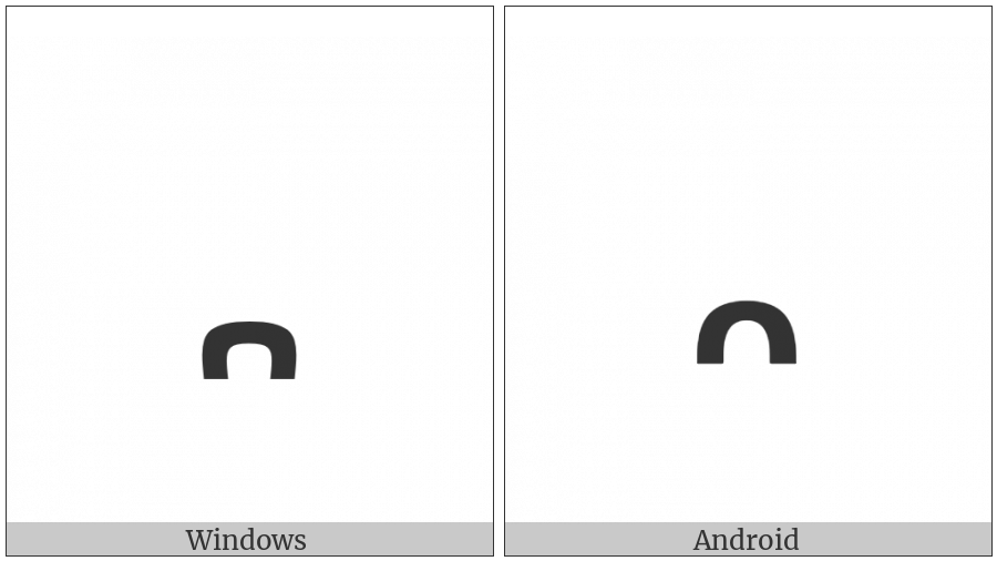 Ethiopic Tonal Mark Difat on various operating systems