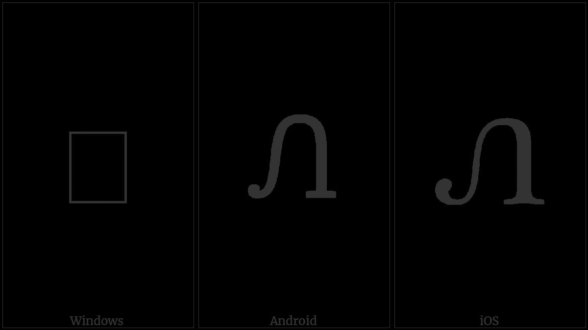 Cherokee Letter Ne on various operating systems
