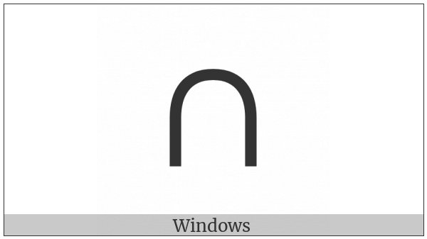 Canadian Syllabics Ti on various operating systems